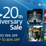 Sony Anuncia Playstation 20th Anniversary Sale Na Psn