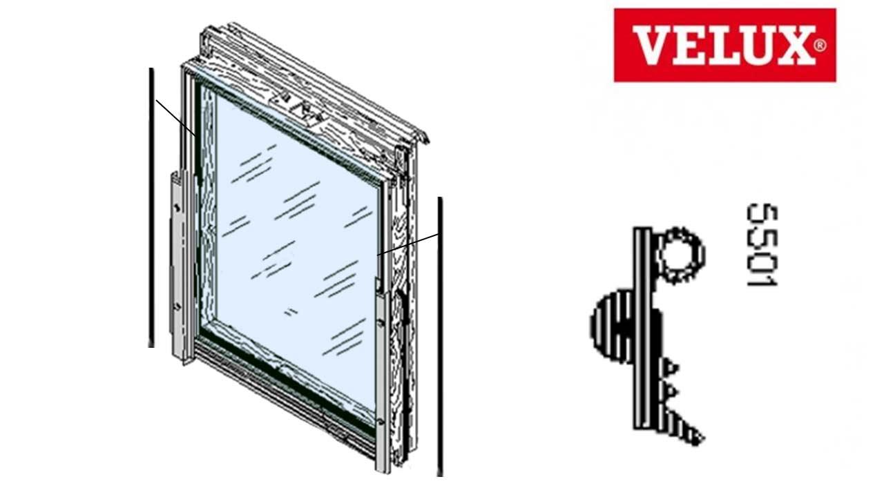 hight resolution of velux scheibenauflage dichtung 5501 seitlich