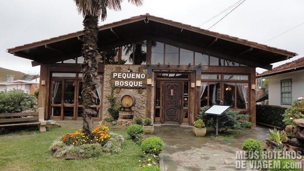 Restaurante Pequeno Bosque - São Joaquim