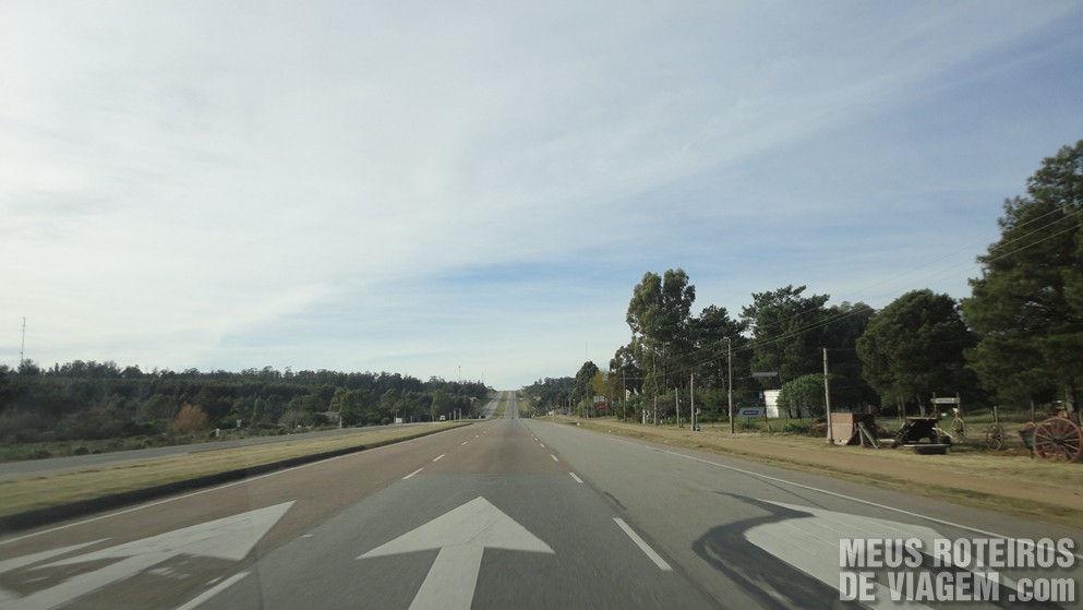 Ruta Interbalnearia - Uruguai
