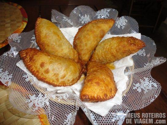 Pastelzinho de carne no Dona Mariquita - Salvador