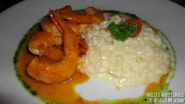 Camarão Marinara - Restaurante Lafayette, Salvador
