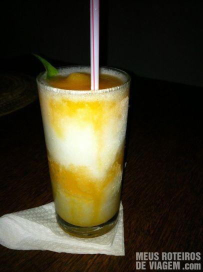 Caipirosca no Restaurante Paraíso Tropical - Salvador