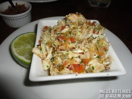 Casquinha de Siri no Restaurante Paraíso Tropical - Salvador