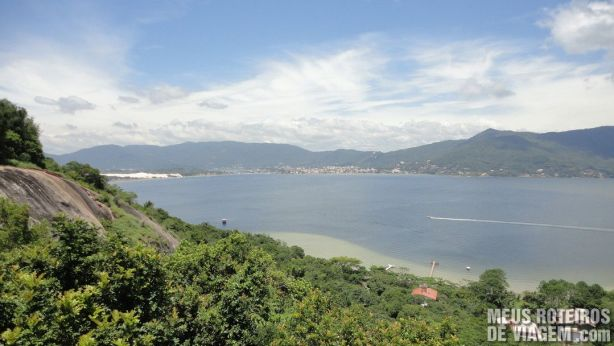 Vista do Restaurante Ponto de Vista - Floripa
