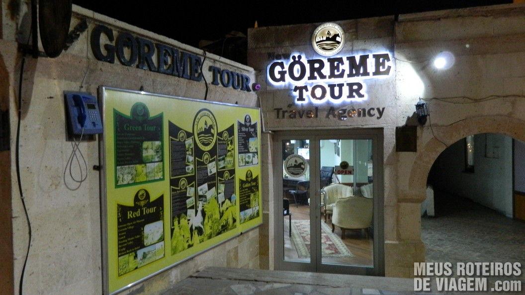 Agência New Goreme Tour - Capadócia, Turquia