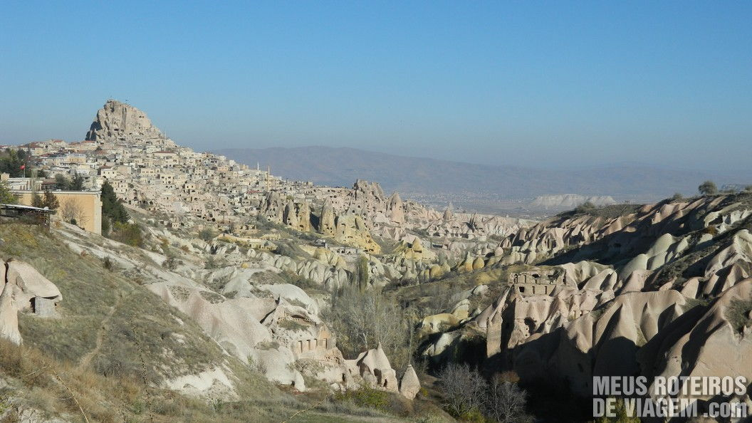 Vilarejo de Uçhisar - Capadócia, Turquia