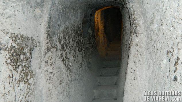Cidade subterrânea de Kaymakli - Capadócia, Turquia