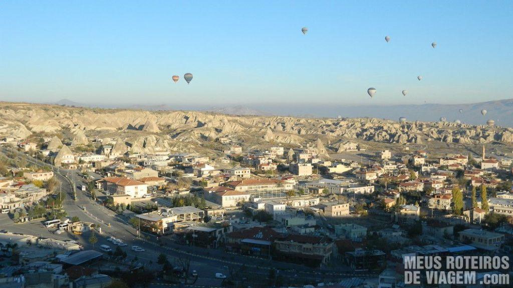 Cidade de Goreme - Capadócia, Turquia