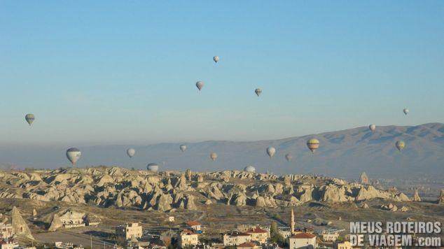 Balões em Goreme - Capadócia, Turquia