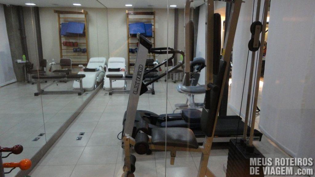 Academia do Hotel Slaviero Fast Sleep - Aeroporto de Guarulhos