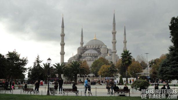 Mesquita Azul - Istambul, Turquia