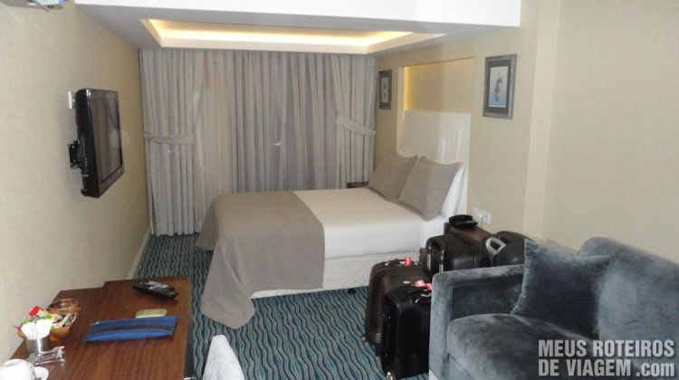 Quarto do Aston Residence - Istambul, Turquia