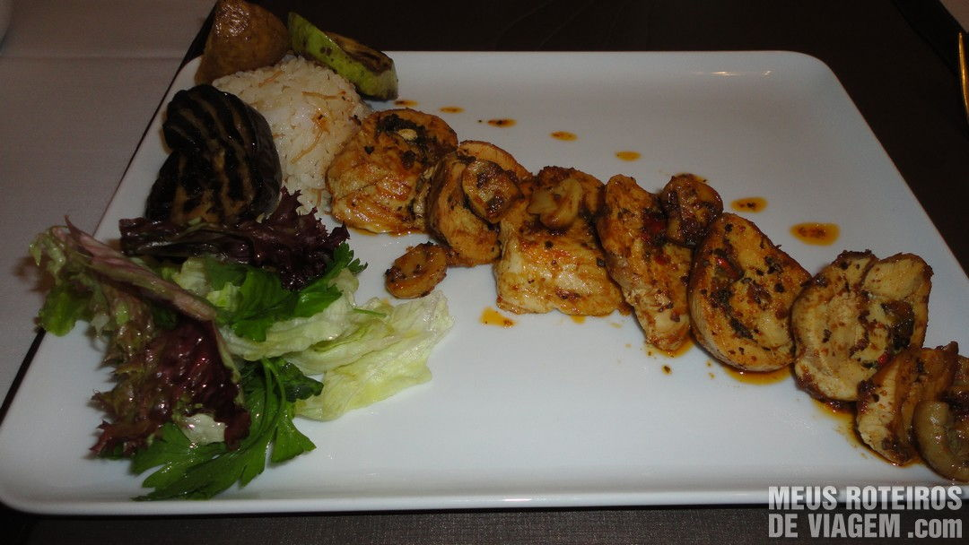 Prato do restaurante Tria Elegance - Istambul, Turquia