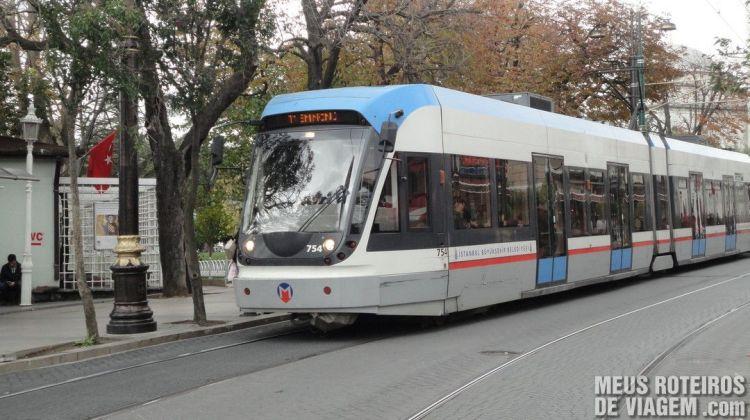 Tram de Istambul - Turquia