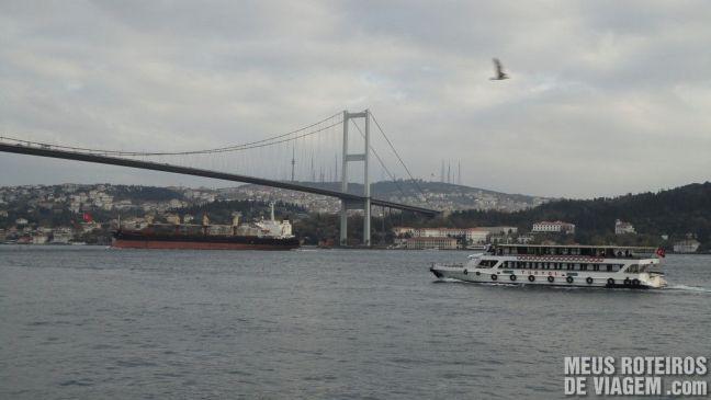 Estreito de Bósforo - Istambul, Turquia