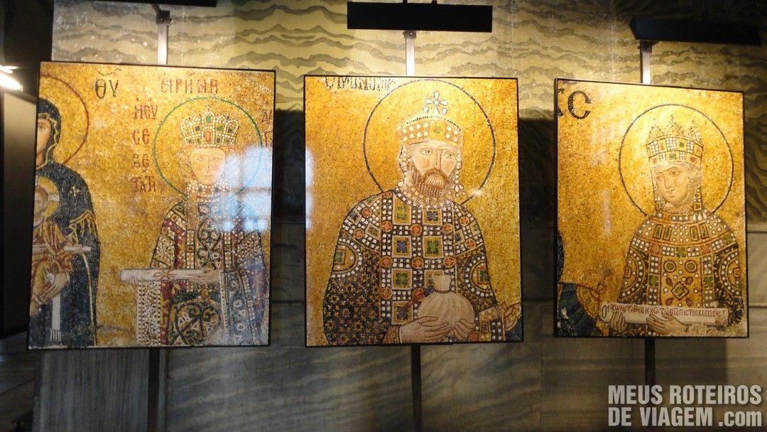 Exposição na Basílica de Santa Sofia - Istambul, Turquia