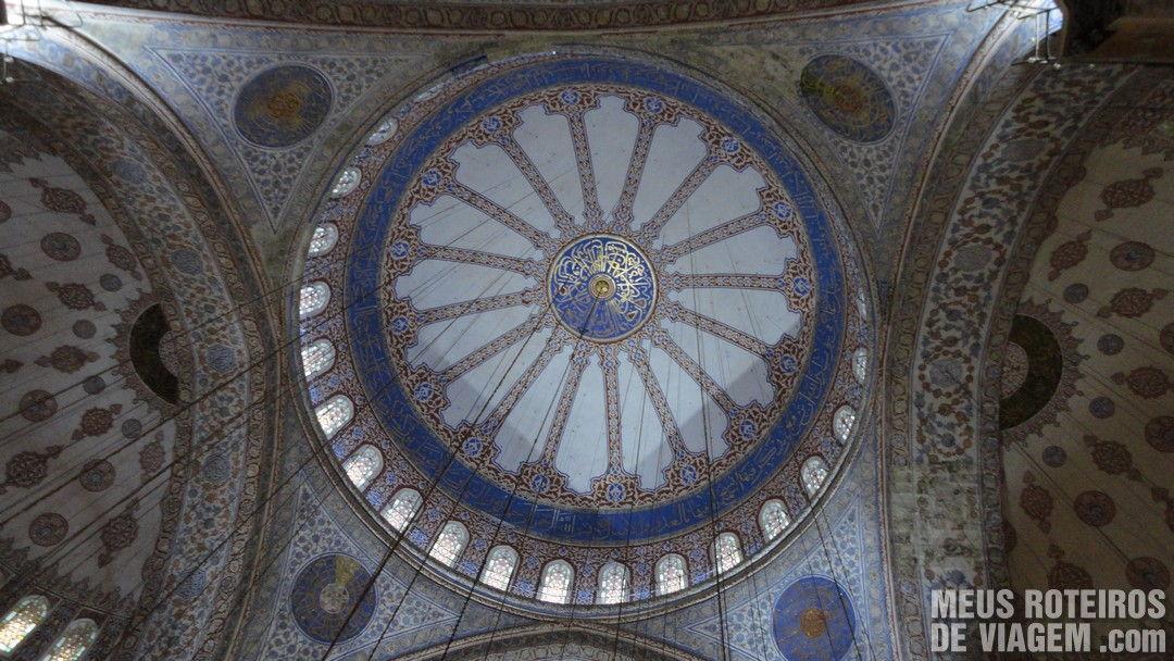 Cúpula da Mesquita Azul / Mesquita de Sultanahmet - Istambul, Turquia