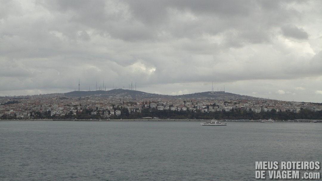 Vista do Palácio Topkapi - Istambul, Turquia