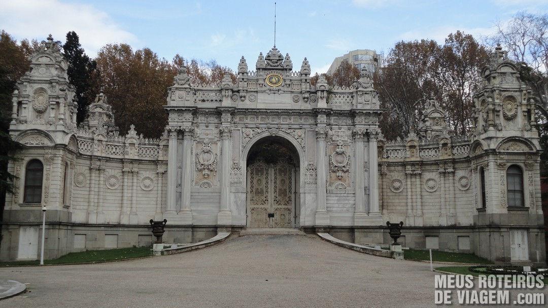Portão do Palácio Dolmabahce - Istambul, Turquia