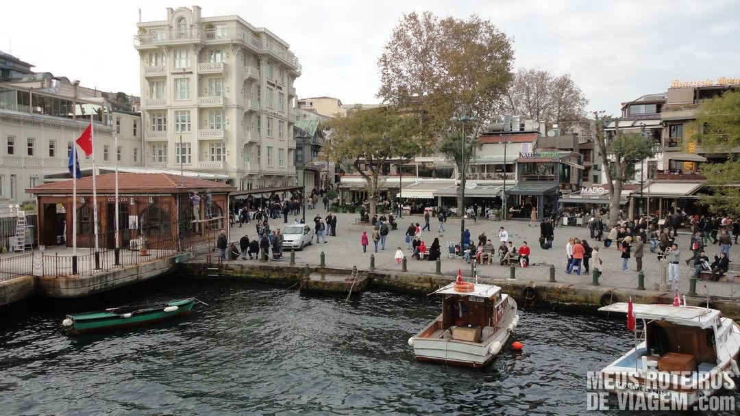 Terminal de Ortaköy - Istambul, Turquia