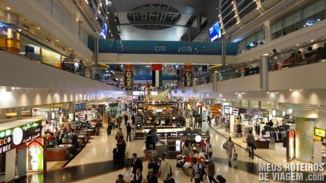 Duty Free do terminal 1 - Aeroporto de Dubai