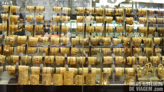 Vitrine do Gold Souk