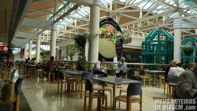 Praça de alimentação do BurJuman - Dubai