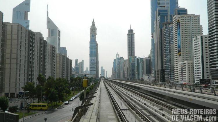 Linha do Metrô de Dubai
