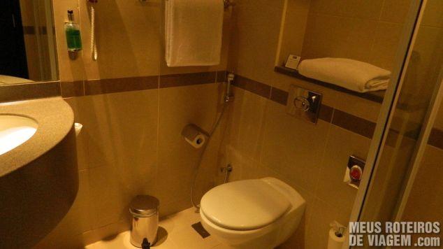Banheiro do Hotel Holiday Inn Express Dubai Jumeirah