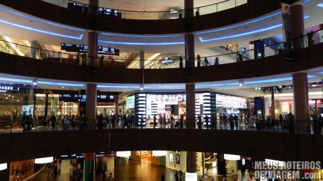 Shopping Dubai Mall - Emirados Árabes