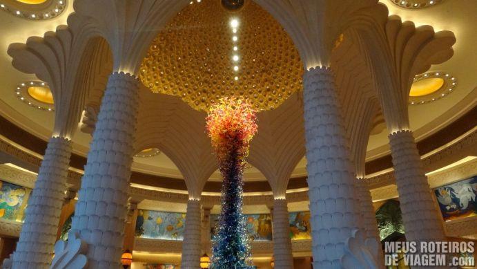 Recepção do hotel Atlantis The Palm, Dubai
