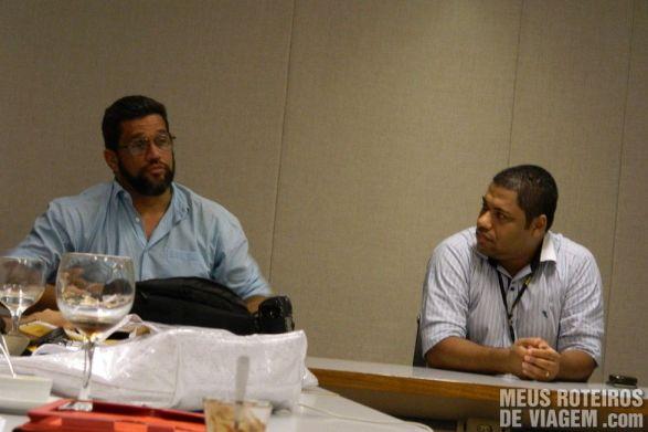 Renato, o Fotógrafo da Rede Globo (à esquerda)