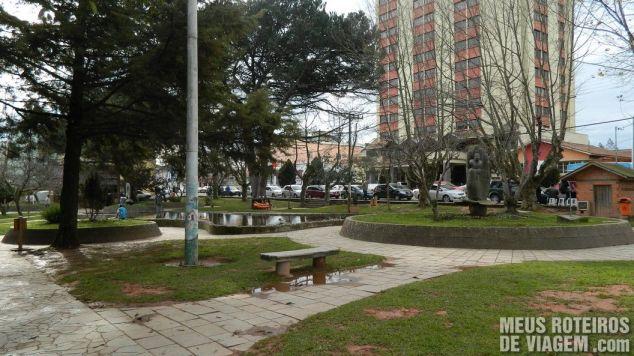 Praça João Ribeiro - São Joaquim