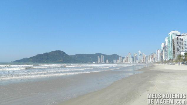 Praia Central de Balneário Camboriú