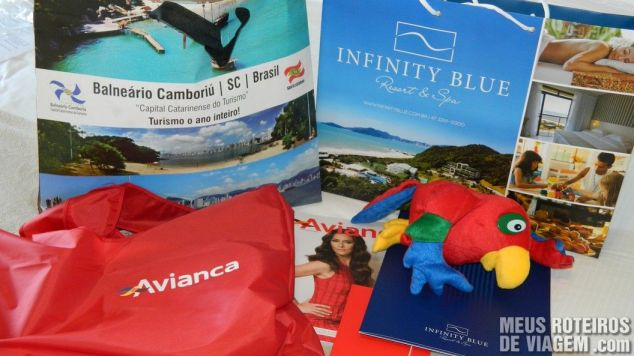 Presentes dos organizadores do 1º Encontro de Blogueiros do Infinity Blue