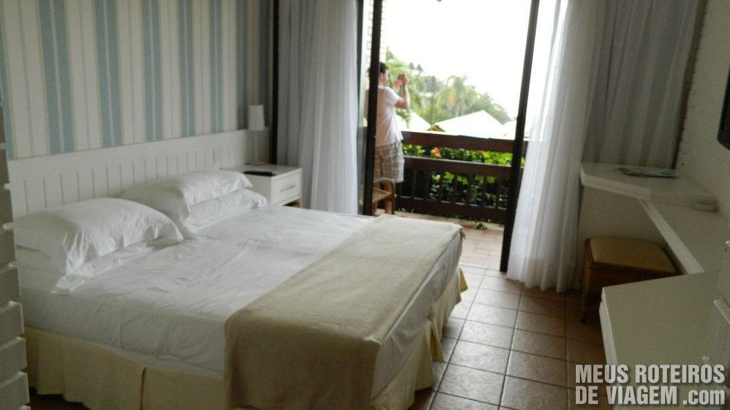 Suíte Superior do Infinity Blue Resort e SPA - Balneário Camboriú/SC