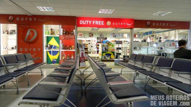 Duty Free do aeroporto de Florianópolis
