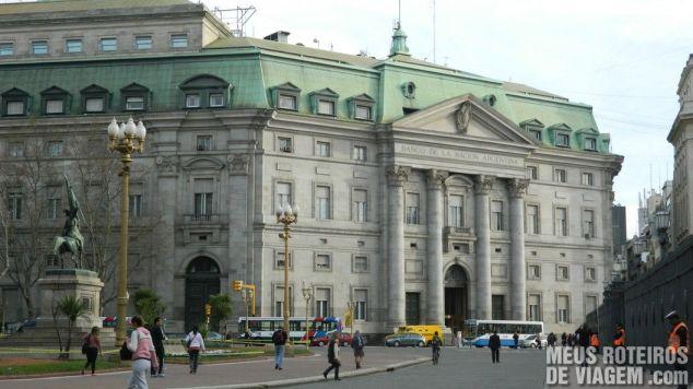 Edifício do Banco de La Nación - Buenos Aires