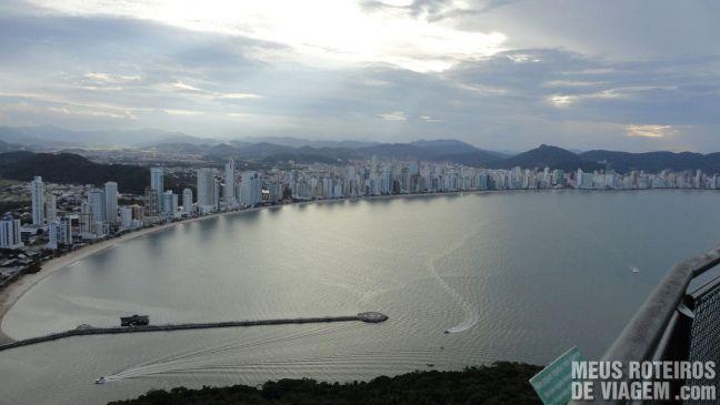 Balneário Camboriú - vista do mirante do Parque Unipraias