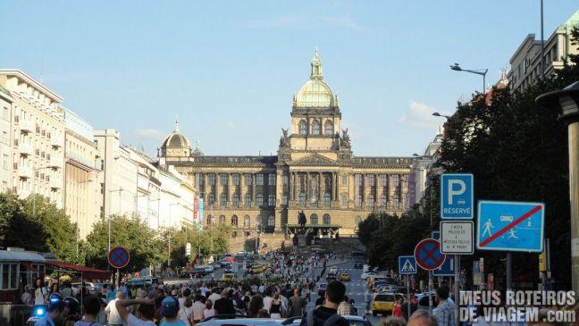 Praça Vesceslau - Praga