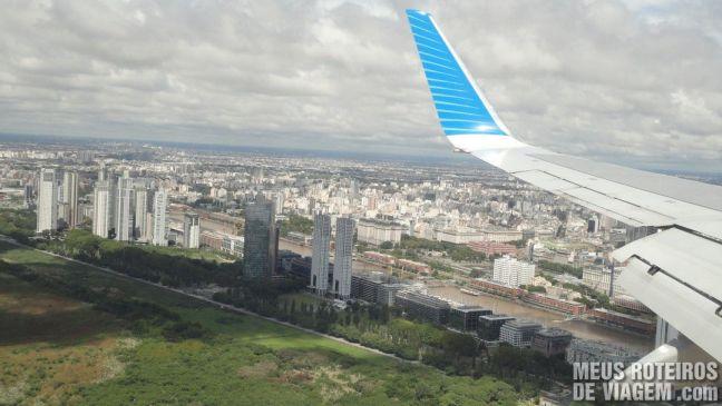 Vista aérea de Puerto Madero - Buenos Aires