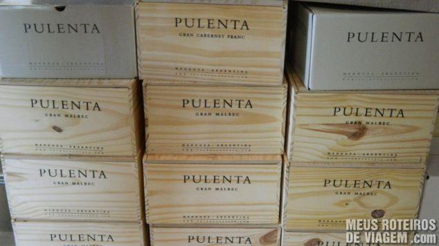 Caixas de vinho