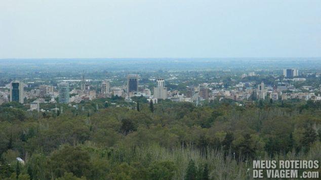 Vista panorâmica de Mendoza - Argentina