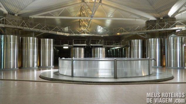 Sala de fermentação Salentein - Mendoza, Argentina