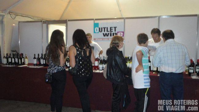 Loja de vinhos na Mega Degustação
