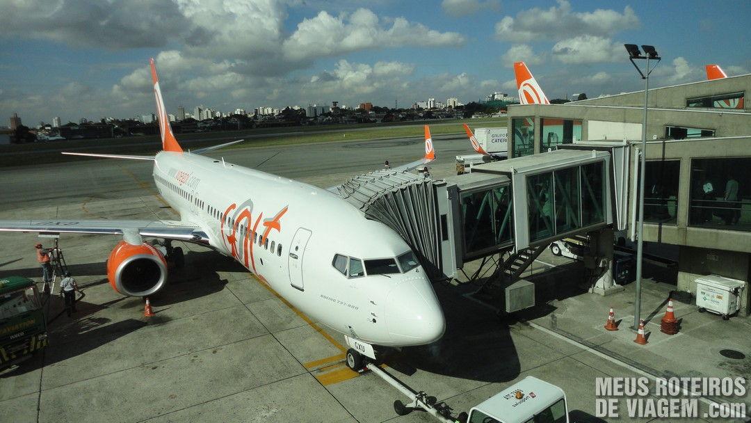 Ponte de embarque do Aeroporto de Congonhas São Paulo