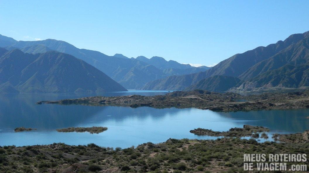 Represa de Potrerillos - Mendoza, Argentina