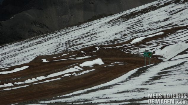 Estrada Cristo Redentor de Los Andes Chile
