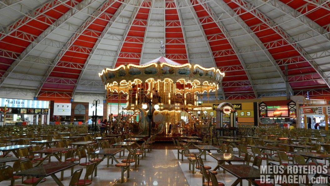 Praça de Alimentação - Parque Beto Carrero World